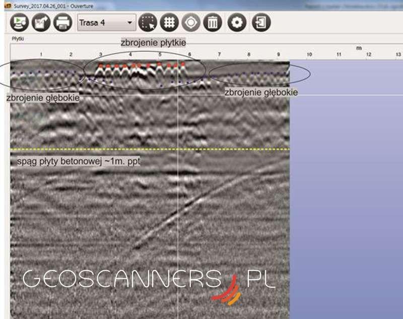 2D rebars detection