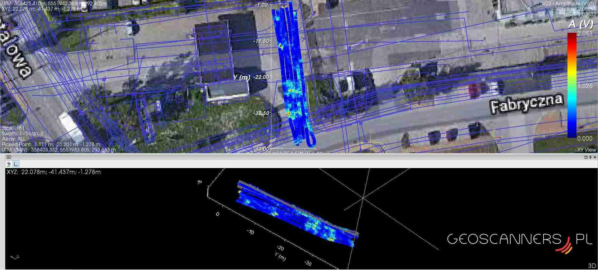 GPR 3D mapping